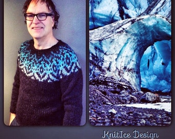 Handmade sweaters with Icelandic lopi from the Designer team Knit Ice.
