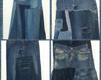 Custom listing * Rebirth Sew Forgiven Skirt* Made to order