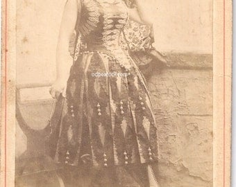 Isabelle Urquhart Newsboy NYC cabinet card theater actress opera