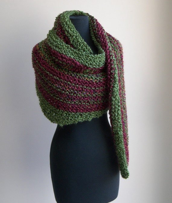 Free Knitting Patterns For Shoulder Cowls : Hand Knit Shoulder Shawl Scarf Cowl Wrap Stylish Comfort