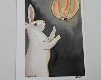 Paper Lantern - Small Archival Fine Art Print