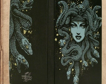 Medusa Hardcover Journal - 160 pages lined/blank