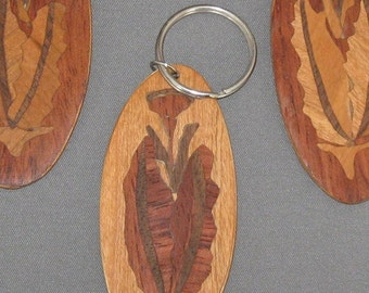marquetry keychain ON SALE 30% OFF