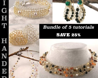 Bundle of 5 Tutorials - Right Handed