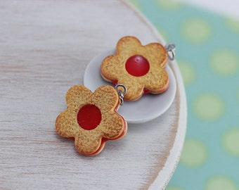 Linzer Cookie  Charm / Pendant