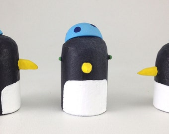 penguin with yarmulke