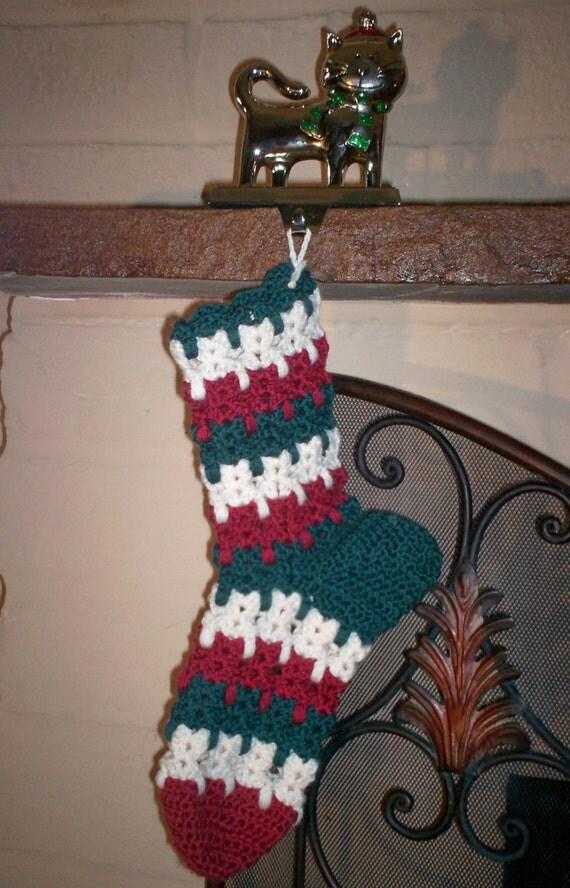 Kitties in a Stocking- crochet pattern