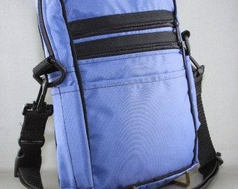 Belt Purse, Blue Travel Purse, Vacation Bag, Small Cross Body Bag, Hands Free Bag,Security Accessory,Belt Bag Fanny Pack,Pouch Hip Bag