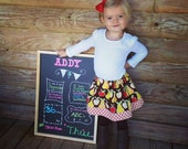Apples and Pears Twirly Skirt - CUSTOM sizes 12 months to size 8