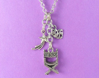Theater Charm Necklace
