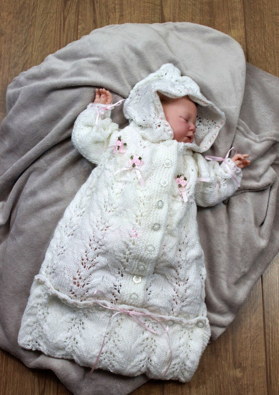 Knitting Pattern For Baby Sleeping Bag Knitting Pattern In 2