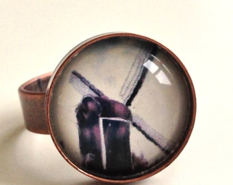 Windmill Ring  - Photo Ring