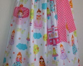 SALE 3t Pillowcase Dress Fairy Tale Princess Dress Castles Carriages Frogs Flowers Once Upon A Time toddler girl Clearance Sale