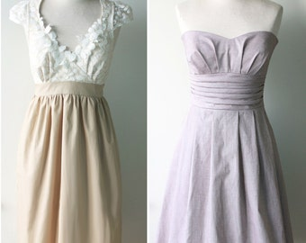 Mix and Match Bridesmaid Dress