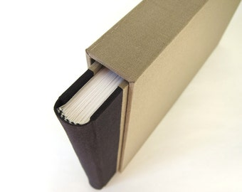 Book Slip Case - Protect Valuable Book - Photo Album - Keepsake Box - Art Portfolio - Custom Made Any Size - Protects from Dirt and Dust