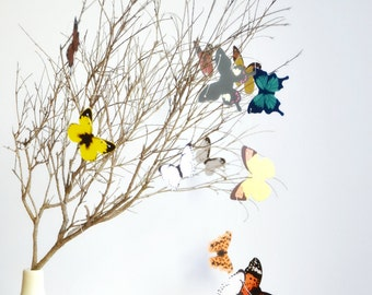 Colourful Butterfly Paper Garland | Butterfly Nursery Decor | New Baby | Christening Baptism | Gift under 15 | Teacher Gift