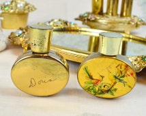 Vintage 1960s Erne Custom Made Perfume Bottles ~ Collectible Fragrance