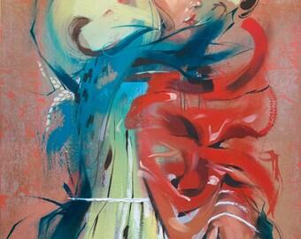 "Norn 7 - 13"" x 19"" Fine Art Print by Jonny Ruzzo"