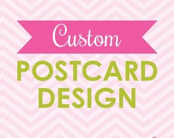 Custom Promotional Postcard Design Printable (Digital File)