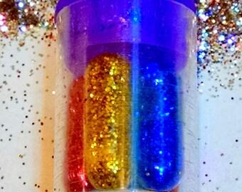 Glitter Pills in Bottle, 5 Glitter Pills, Glitter Pills in Jar, Glitter  Pill Bottle, Emergency Glitter Pills Glitter Piles in case