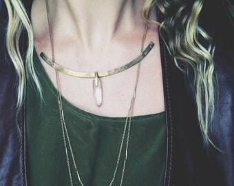 Eros Drop Chain Necklace