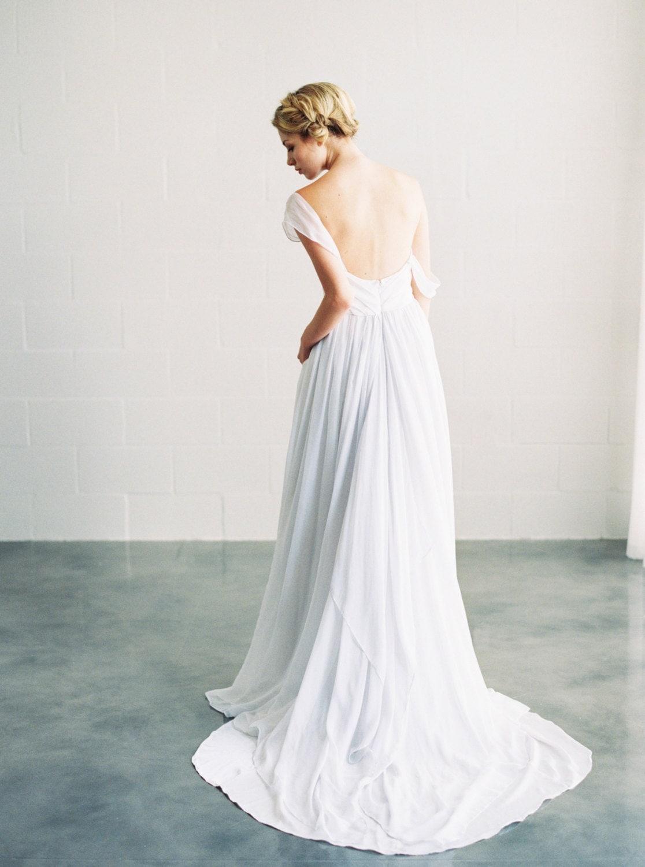 Ivy Dress Silk Chiffon Wedding Dress