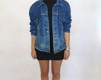 The Vintage Dark Wash Western Levi's Jacket