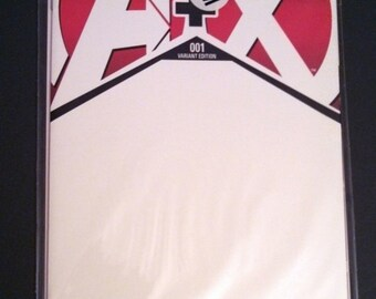 COMMISSION: AVENGERS and X-MEN A+X black and white sketch cover blank variant comic book marvel