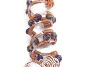 Dreadlock Loc Braid Jewelry Snake Wire Wrapped