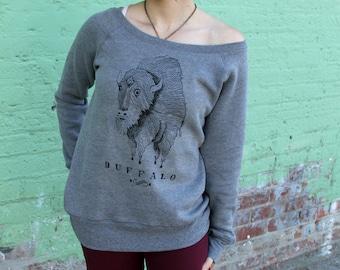 Buffalo Sweatshirt - women's