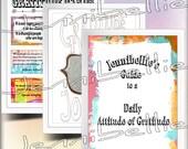 Daily Gratitude Journal Kit