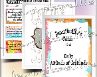 Daily Gratitude Journal Kit