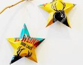 Anderson Valley El Steinber Dark Lager Stars Ornaments Aluminum Can Repurposed