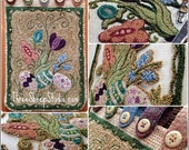 Punch Needle Pattern - Springtime - #PN527- Needlepunch Embroidery