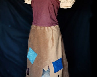 Snow White Rags Dress Adult Costume sizes from 2-14 Cosplay