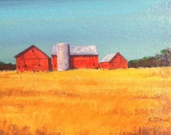Barn, Andersen VanWerk's Wheat Field