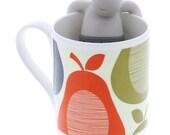 Mr. Tea, Mr. T, Tea, Loose Tea,  Strainer, Tea Infuser, Tea Strainer, Tea Supply, Kitchen Supply, Housewares,