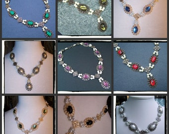 CUSTOM Made Desire Necklace Tudor Renaissance Game of Thrones Jewelry