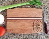 Personalized Seasoned with Love Cutting Board Personalized Cutting Board Eat