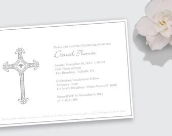 Christening / Baptism / Communion / Confirmation Invitation - DEPOSIT