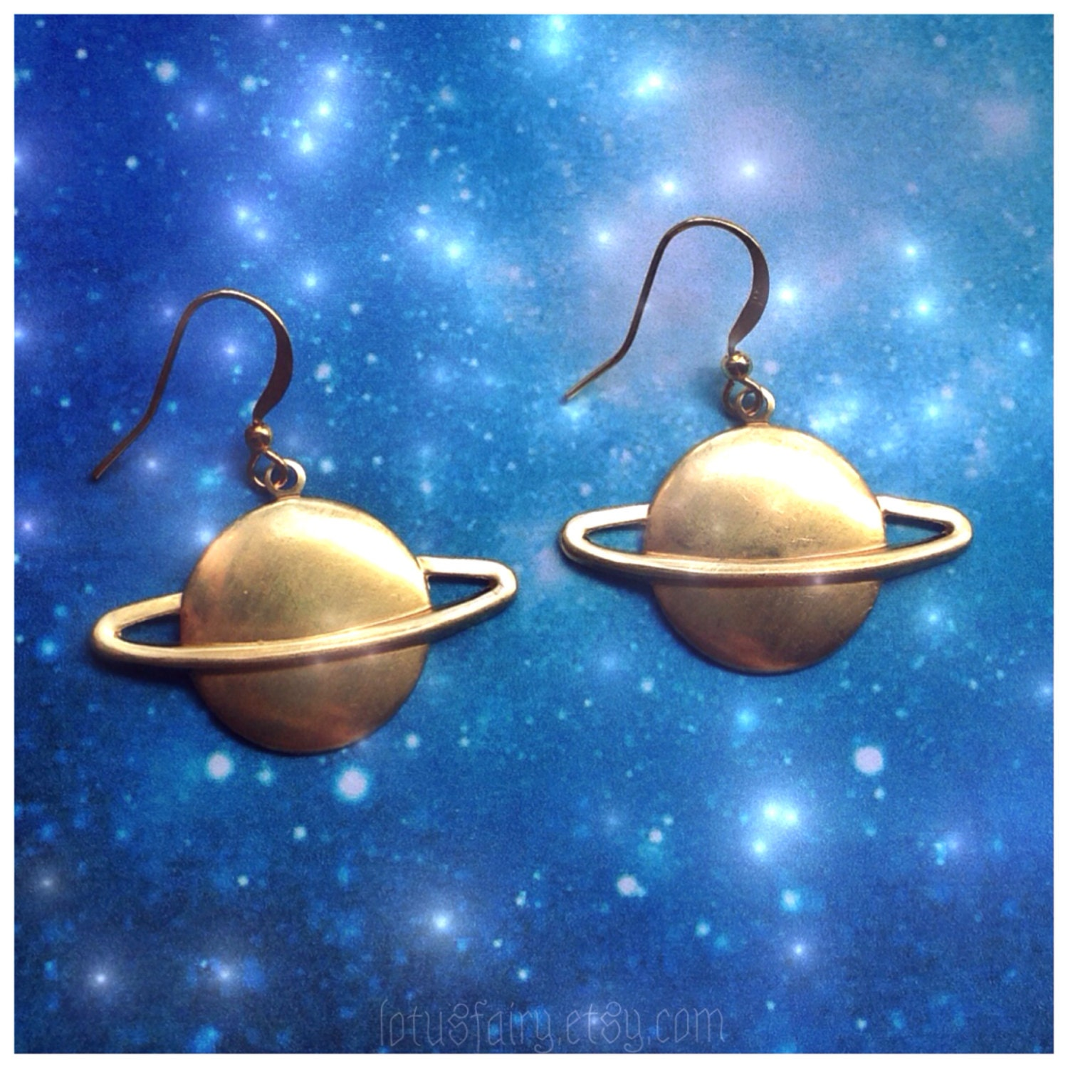 planet saturn earring - photo #36
