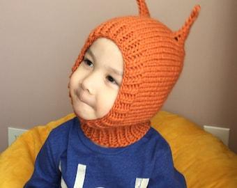 NEW 2T-4T Happy Squirrel wool hat  #13