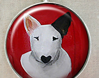 Bull Terrier Keychain ~ Dog Dad Gift ~ Trending Items ~ Target Dog ~ January Birthday ~ Dog Keychain
