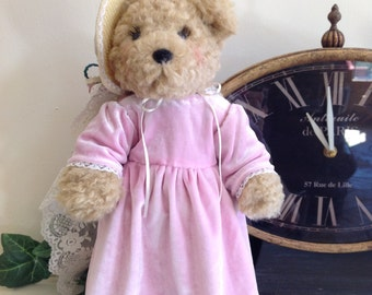 Penelope, Pretty in Pink Artist Bear, Jointed Teddy Bear