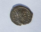 Authentic Ancient Roman Silver Denarius Coin Septimus Severus Circa AD 193-211
