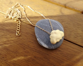 50% DISCOUNT - Dainty Gold Cloud Necklace