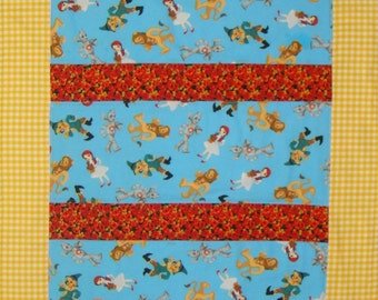 Wizard of OZ Baby Quilt, Blanket, Wall Hanging