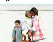 Girls Art Smock Coat Dress PDF Sewing Pattern - The Frenchy Art Smock