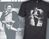 Texas Chainsaw Massacre T-Shirt - Leatherface Horror Movie Shirt - Tobe Hooper v1 - FREE SHIPPING
