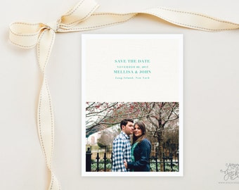 SAVE THE DATE - Breeze Tropical Photo Save the Date Cards by Sincerely, Jackie